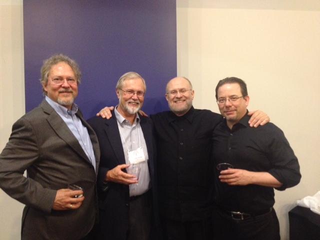 Nicolas Schidlovsky, Vladimir Morosan, Peter Jermihov, and Kurt Sander