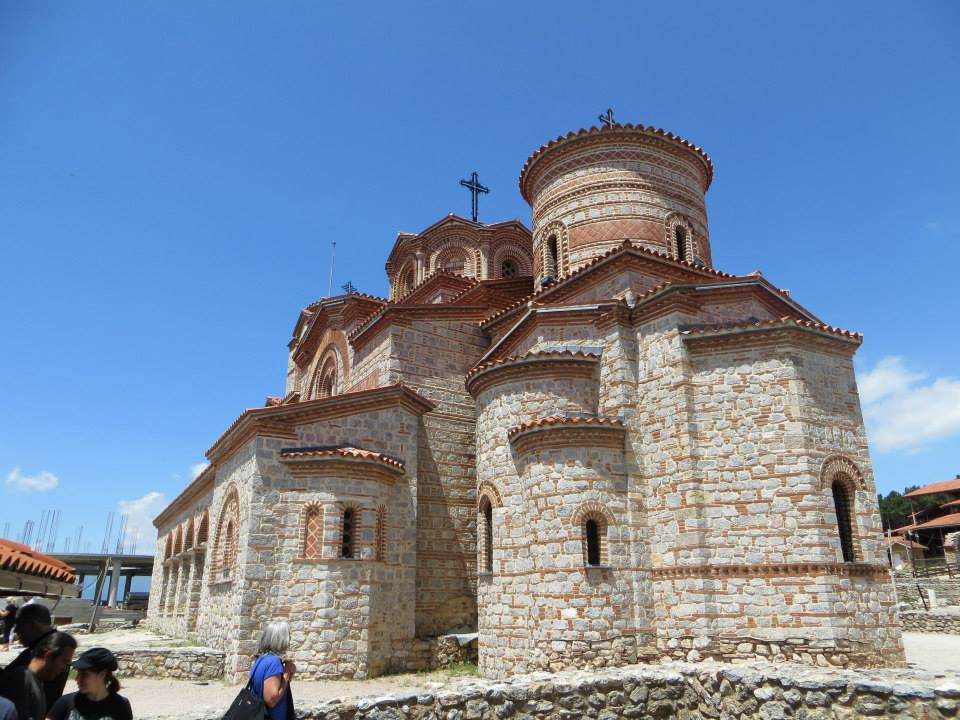 Church of St. Panteleimon at Ohrid, physical reconstruction completed in 2002. The original 9th century structure was severely damaged in 15th century by the Ottoman Turks used as a mosque.