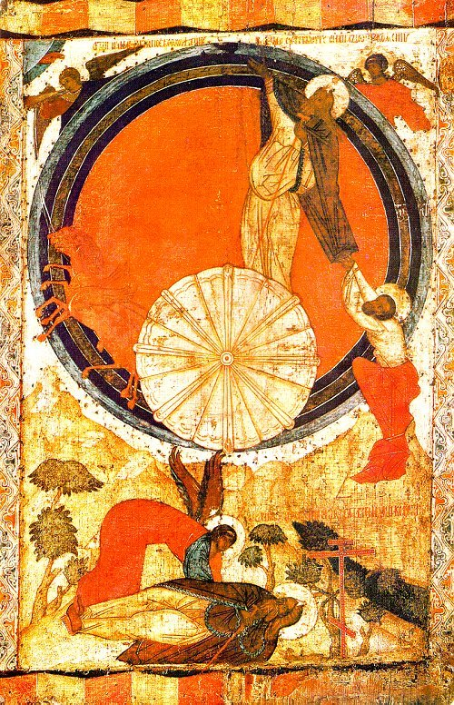 16 ICON THE FIERY ASCENSION OF ELIJAH THE PROPHET