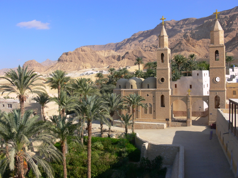 Monastery of Saint Anthony, Egypt, founded in the 4th century