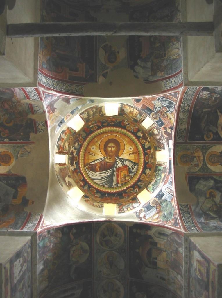 Kessariani Monastery near Athens. Photo by Andrew Gould