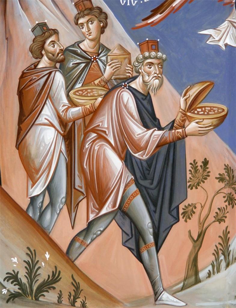 The Magi, Simonopetra, Mount Athos, 2009-2010