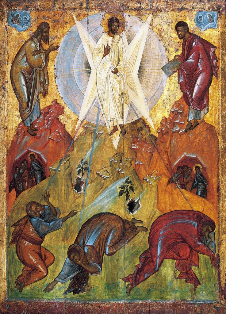 Transfiguration by Theophanes the Greek, 15th Century