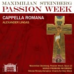 "A New Landmark: Steinberg's ""Passion Week"""