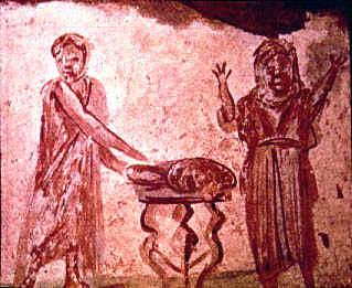 07 Callixtus catacomb 2nd c.,  copy