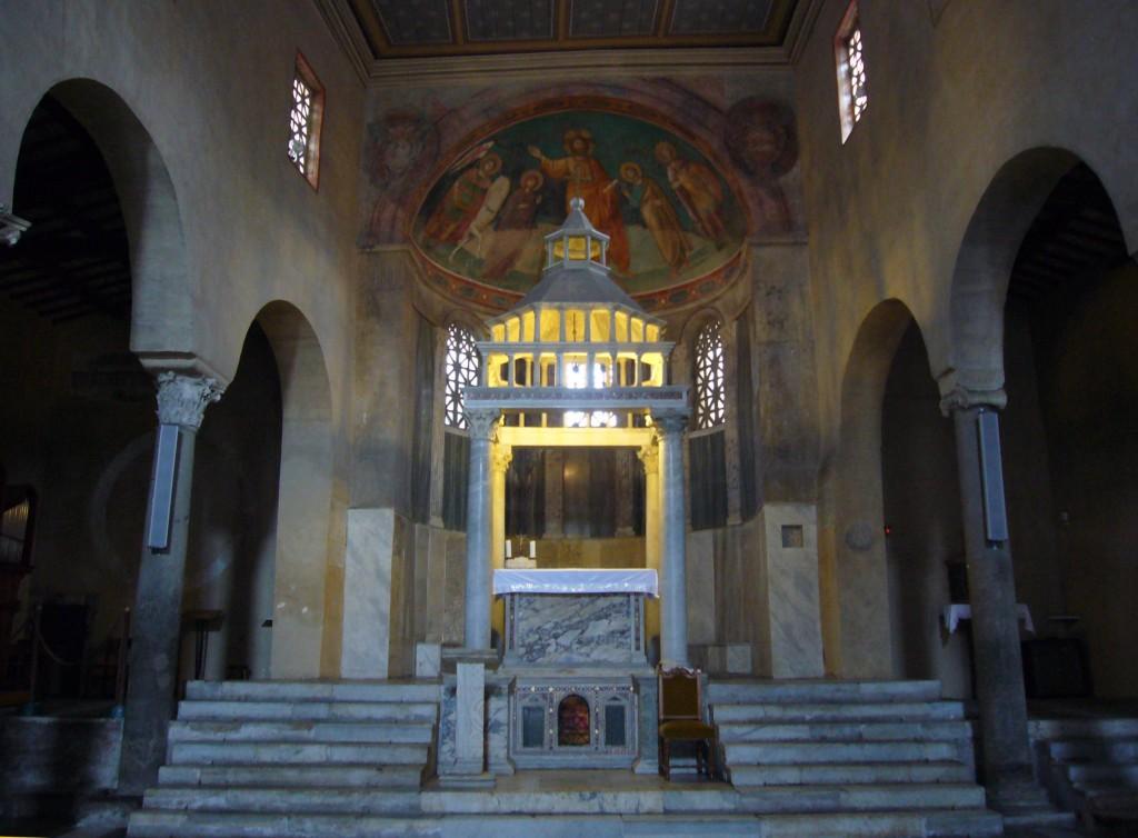 17 san_Giorgio_Velabro_baldacchino_and confessio copy