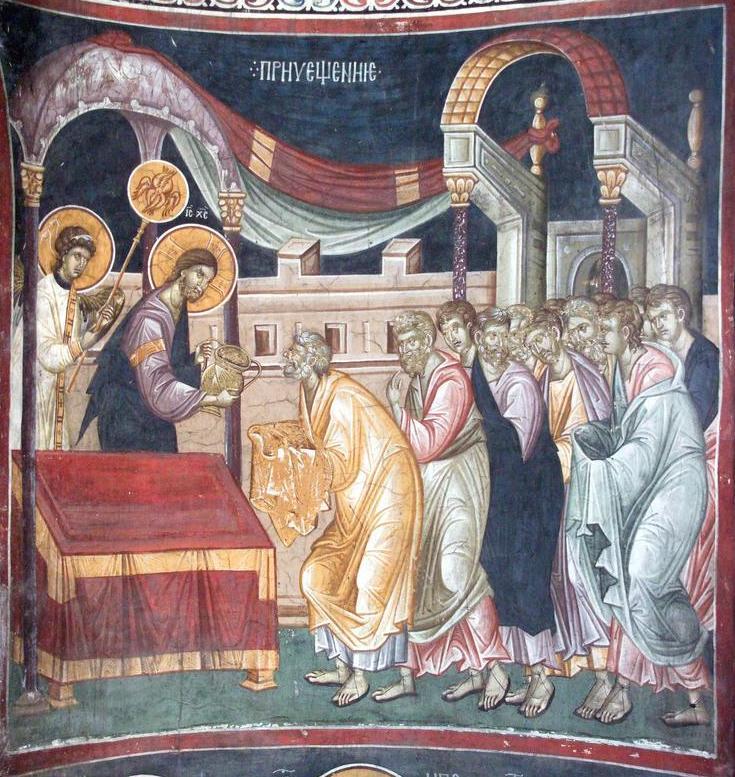 29 Gracanica, Serbia, 1321-1322, ciborium copy