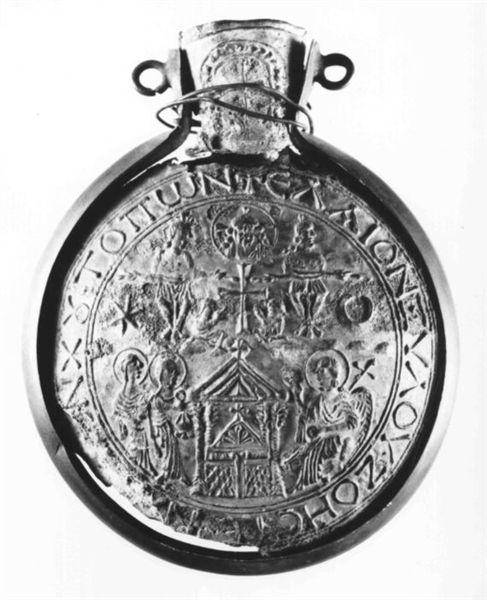 32 Bobbio ampulla_VI c, holy sepulchre ciborium copy