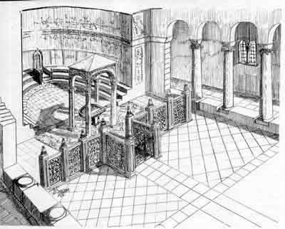 47 altar chancel at  Veliko Tarnovo bulgaria 6th. N. Angelov copy