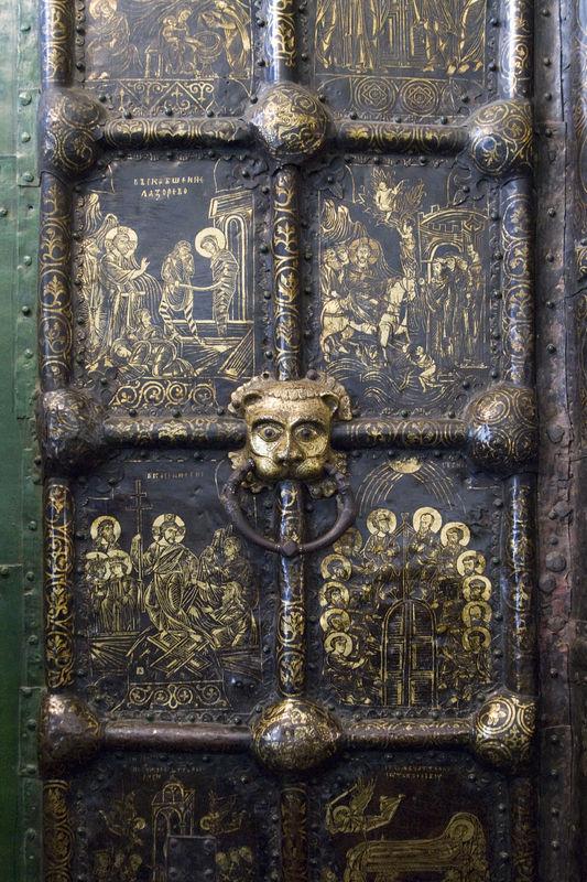 Detail of Suzdal gates