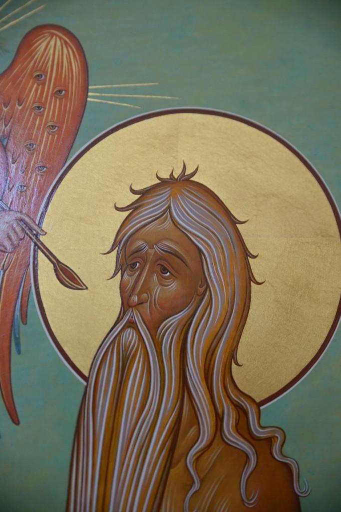 Detail of St. Onuphrius