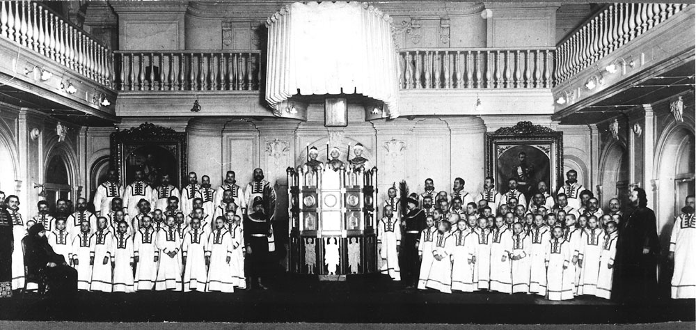 Moscow Synodal Choir Performs Kastalsky's Play of the Fiery Furnace (1909)