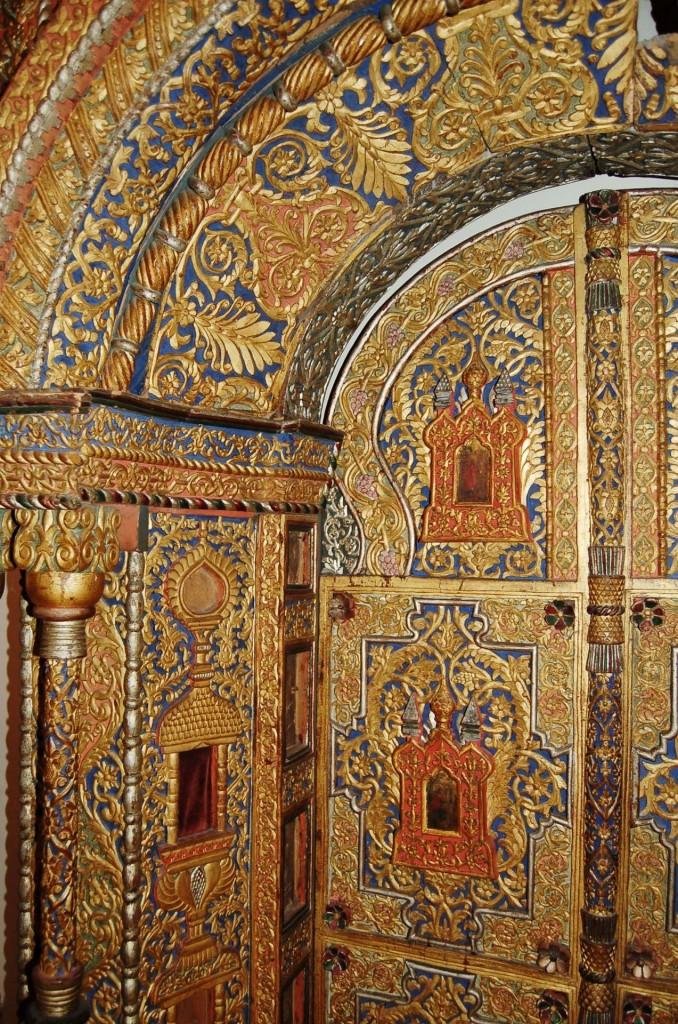 Holy doors, Yaroslavl, Russia, 17th century