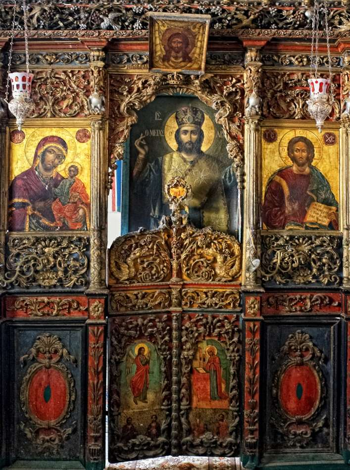 A chapel on Mount Athos
