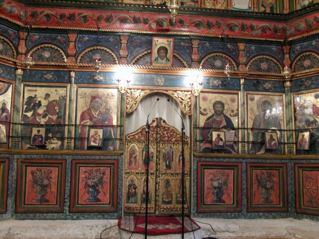 St Demetrios in Diavata (near Thessalonica) - iconostasis made in 1853.