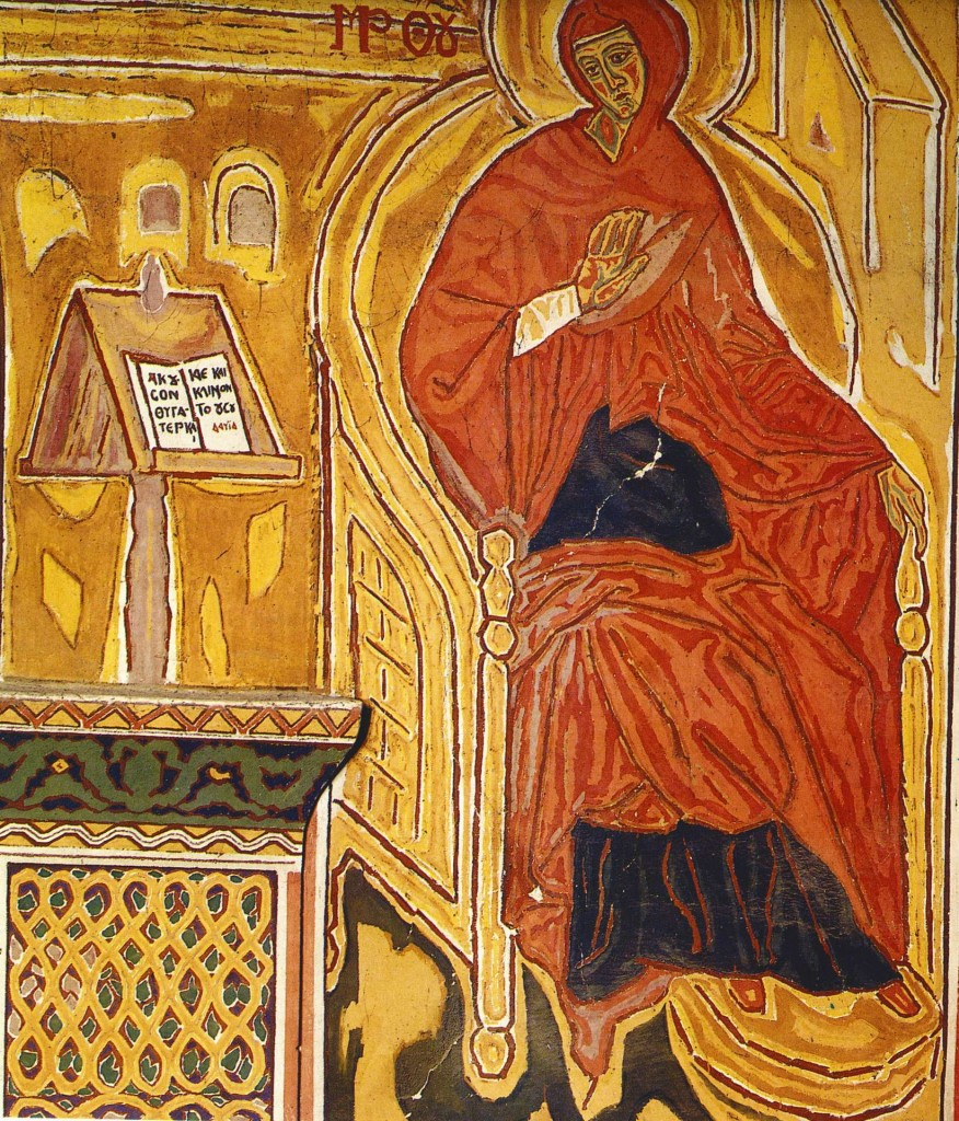 The Annunciation (detail) from Amphissa Cathedral