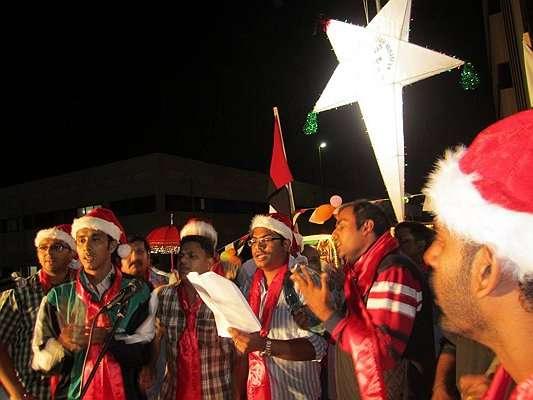 Malankara Orthodox Christmas Carolers in Abu Dhabi, U.A.E.