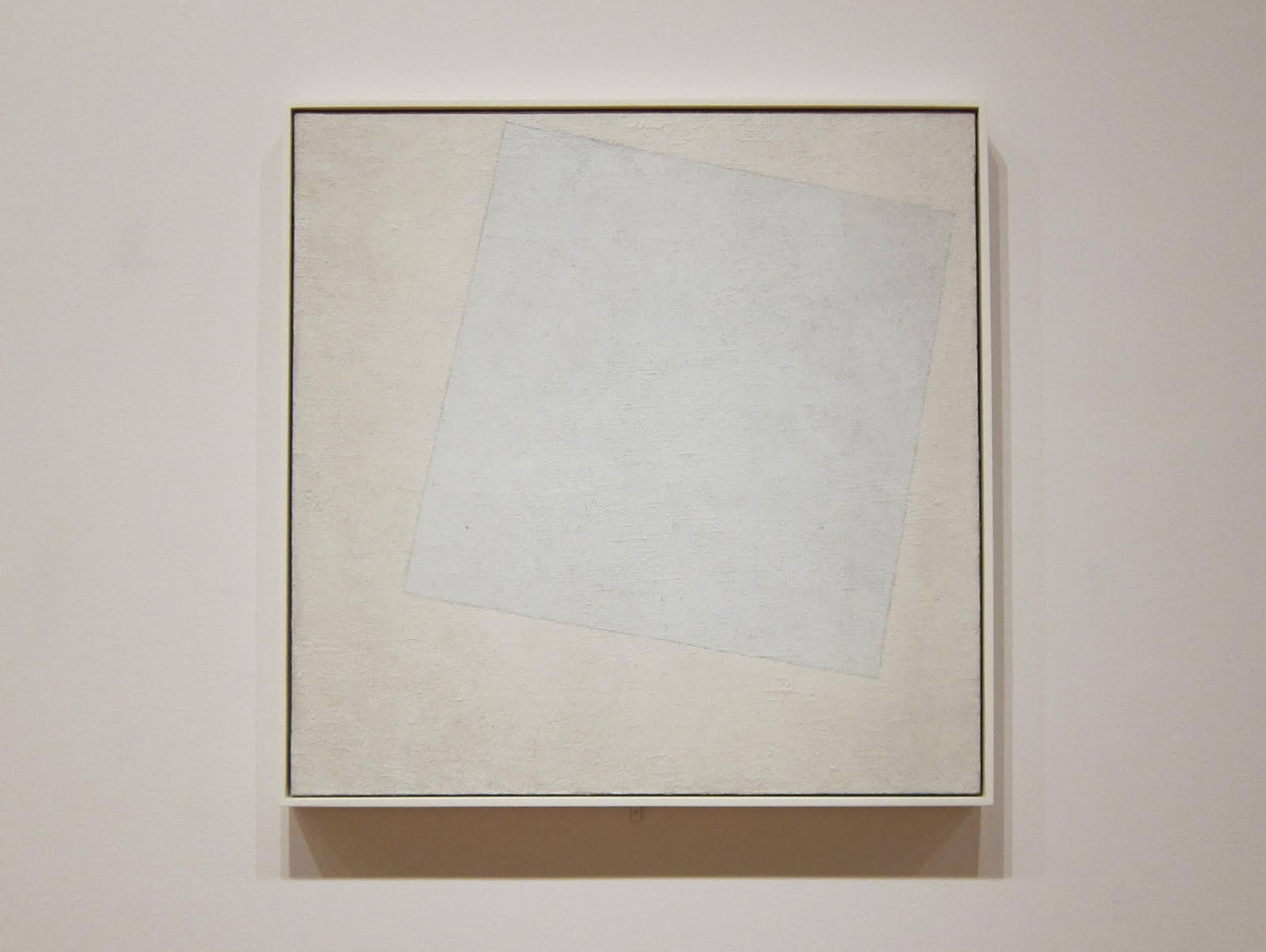 Kasimir Malevich (1879-1935), Suprematist Composition: White on White, 1918.