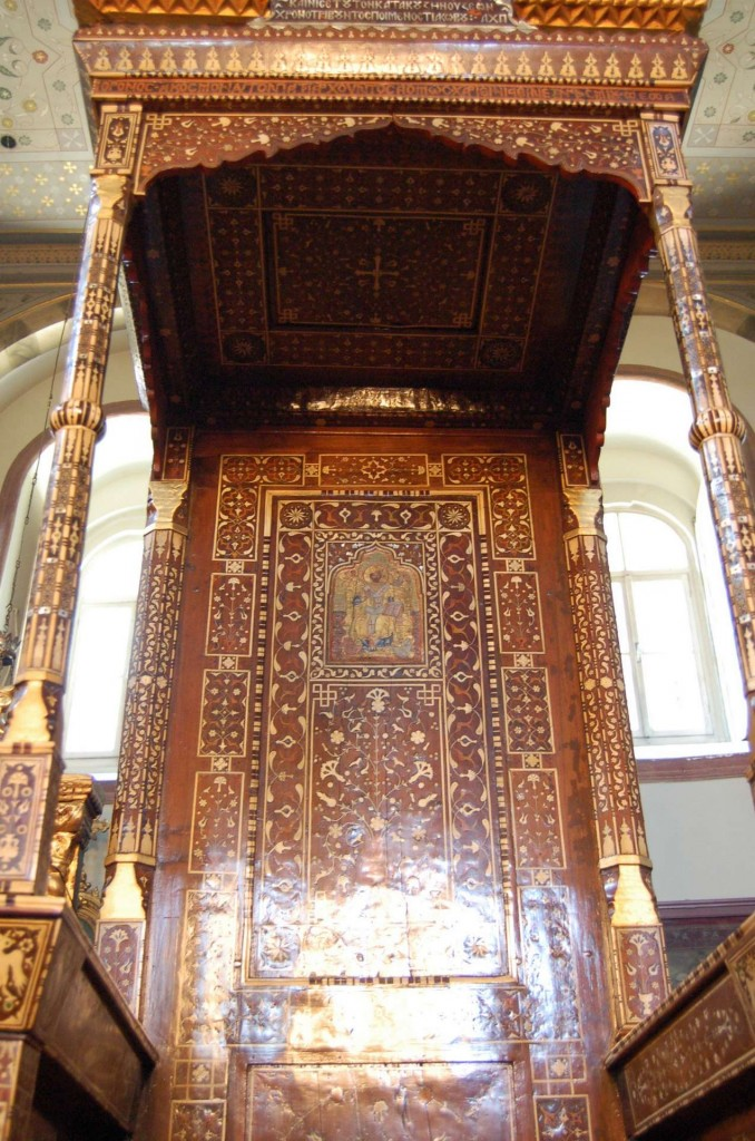 Abbatial throne, Ecumenical Patriarchate, Istanbul, 17th century
