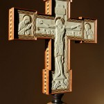 A Carved and Inlaid Cross, a Collaborative Work
