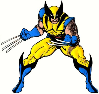 Wolverine, the archetypal mutant in modern fiction.