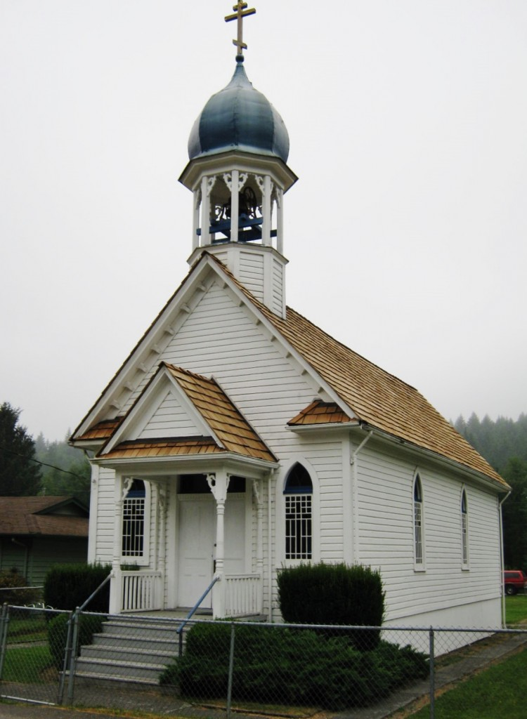 Holy Trinity Orthodox Church in Wilkeson, WA, built in 1900