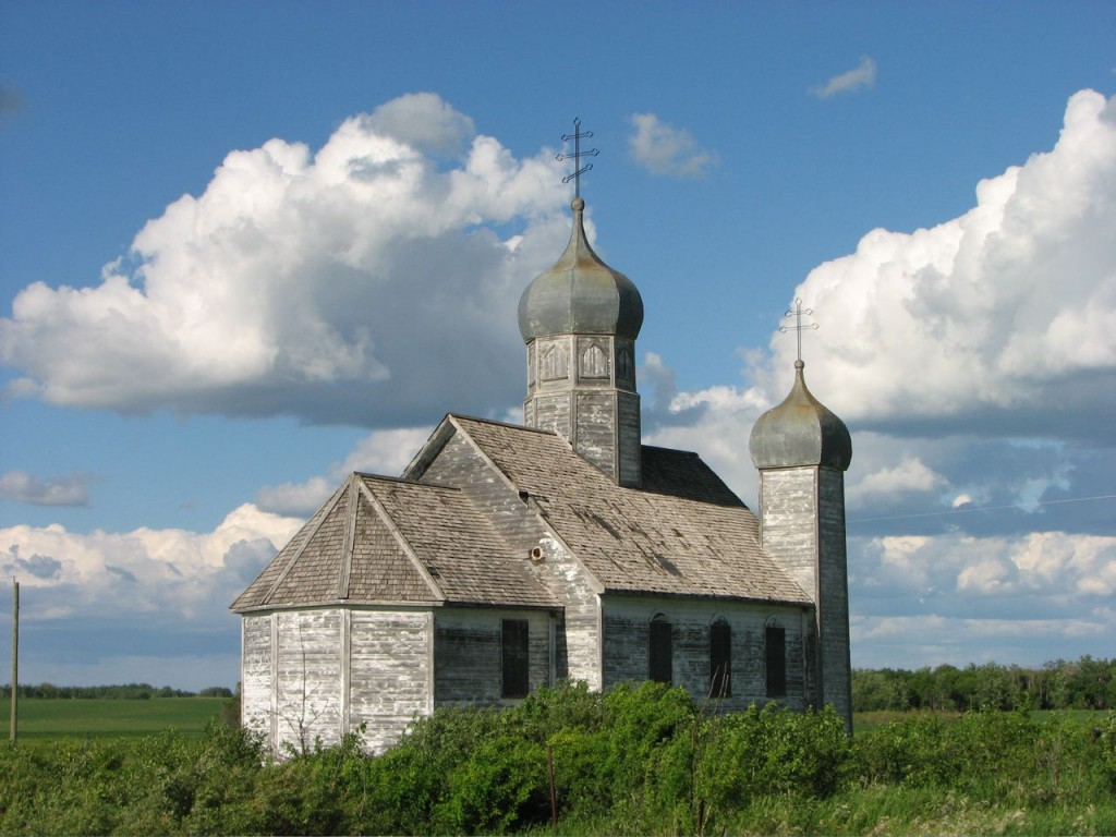 Church in the Canadian Midwest, built in 1932