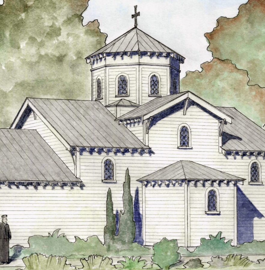 Proposed exterior - detail