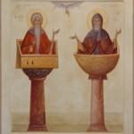 14. Simeon and Daniel Stylites byThoma Chituc