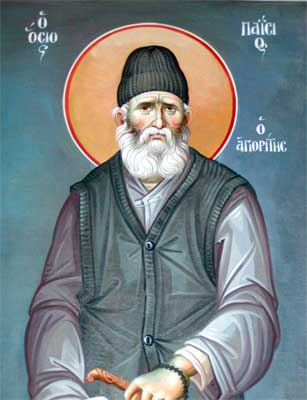 30. St Paisios of the Holy Mountain