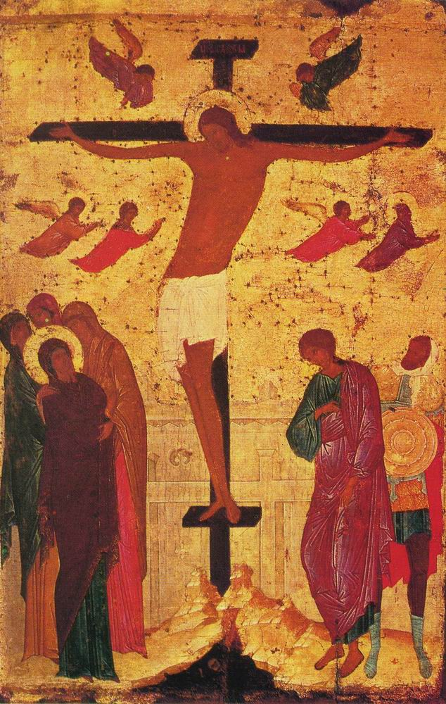44. Dionysius of Moscow. crucifixion