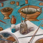 """A Matter of """"Ethos"""": An Interview with the Painter Markos Kampanis"""
