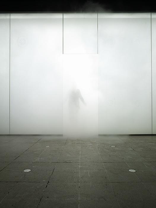 Antony Gormley, Blind Light, 2007. Instillation, Hayward Gallery.