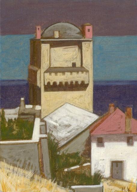 Markos Kampanis, Iveron Monastery Tower.