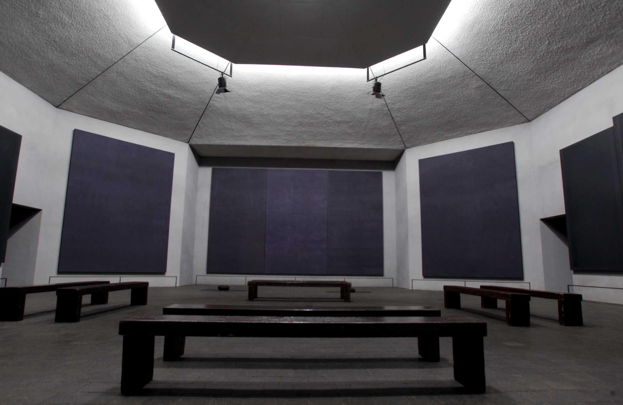 Mark Rothko, Rothko Chapel, 1971.