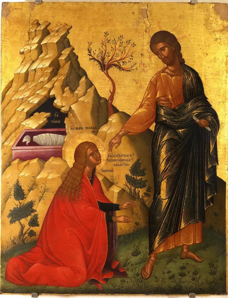 Touch Me Not icon, 16th century Crete.