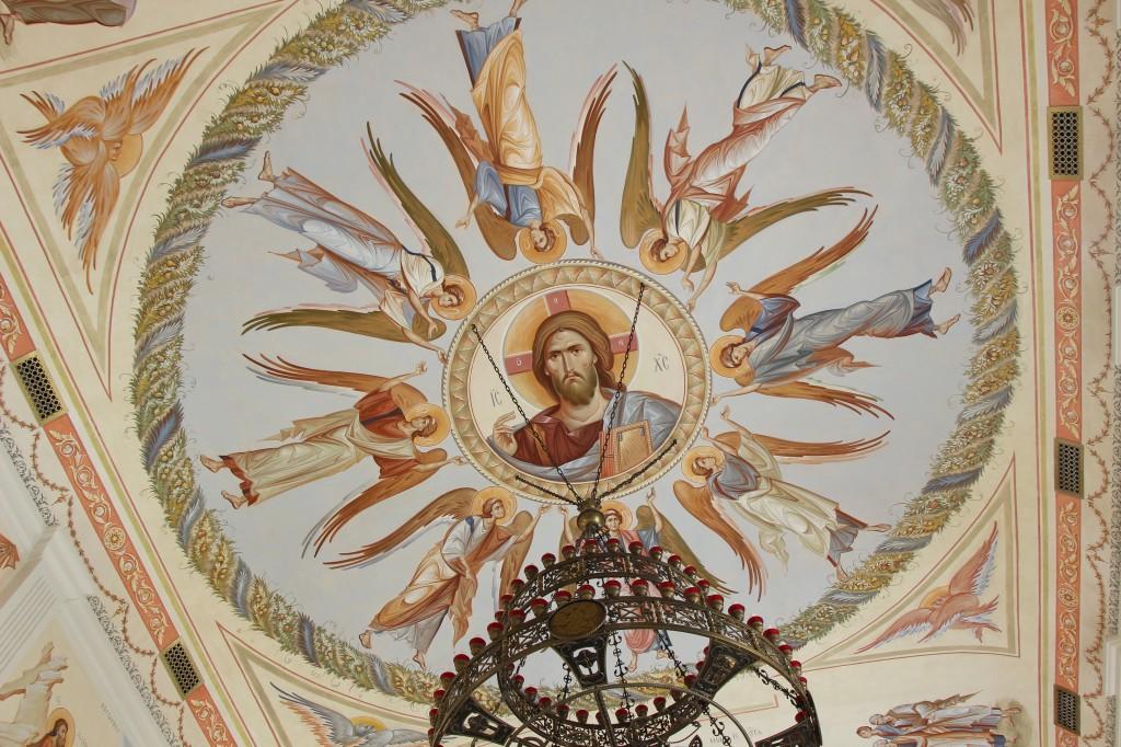 фрагмент росписи храма Архангела Михаила. г. Севастополь, 2014г.