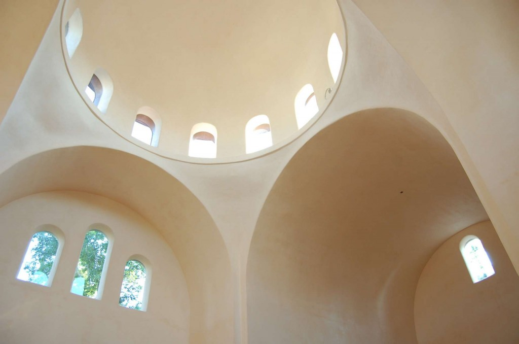 The dome after Holy Ascension was first built.