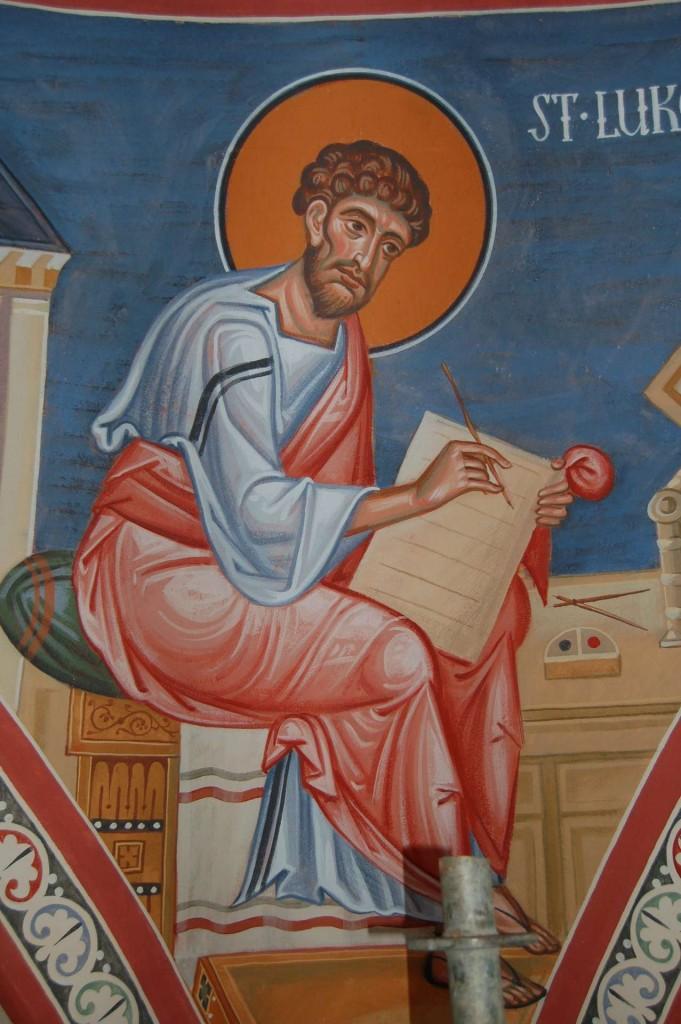 Saint Luke the Evangelist.