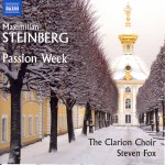 The Clarion Choir Extends the Visibility of Maximilian Steinberg's Passion Week with New Recording and Russian Tour