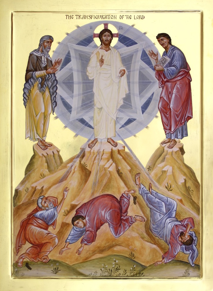 The Transfiguration. The cosmos is created to be Christ's transfigured garment.