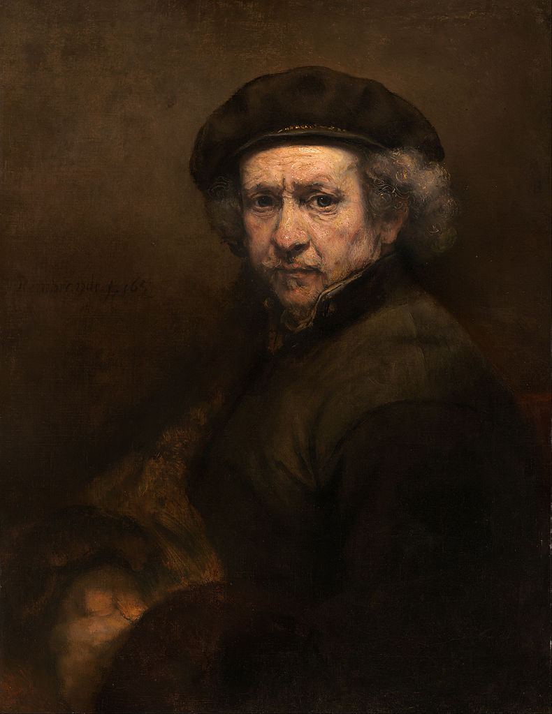 Self Portrait. Rembrandt van Rijn,1659.