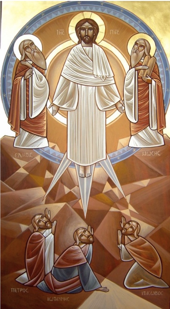 The Transfiguration. By Dr Stéphane Réne, of the Neo Coptic school founded by Dr. Isaac Fanous.