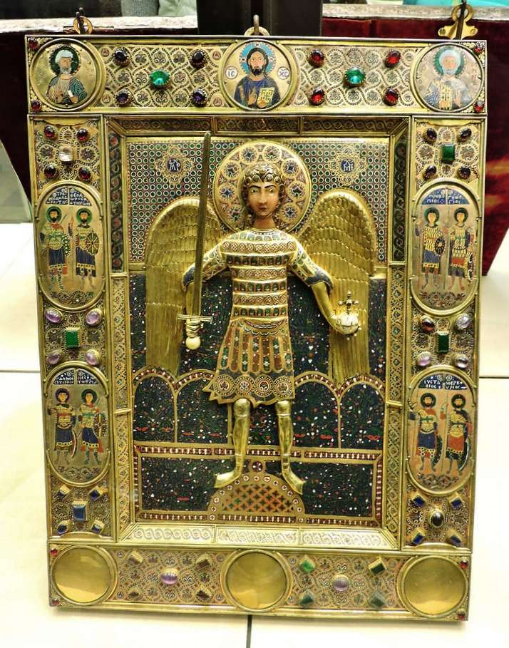 Icon of Saint Michael, 12th century Byzantine