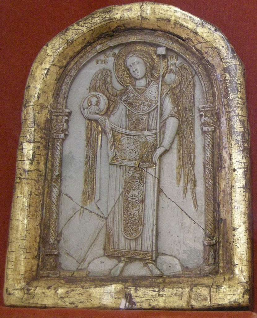 Steatite icon of St. Gabriel, 12th-century Byzantine