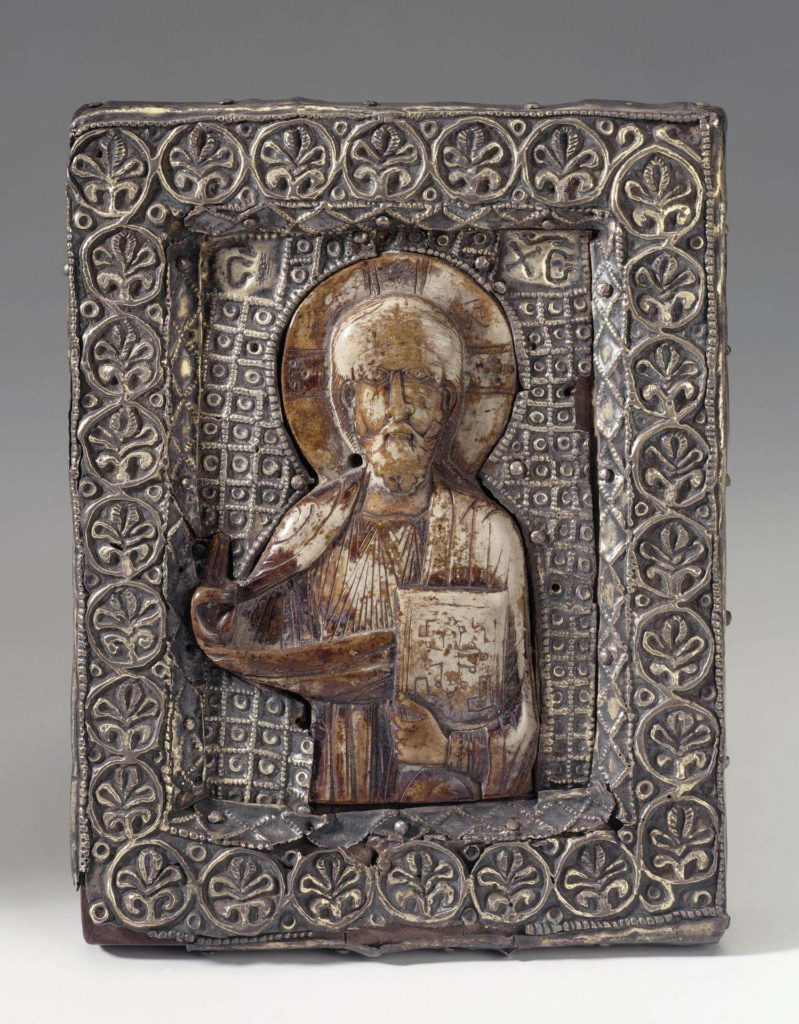 Icon of Christ, 11th-century Byzantine
