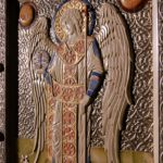 An Innovative Carved Icon of Archangel Gabriel - A Collaborative Work