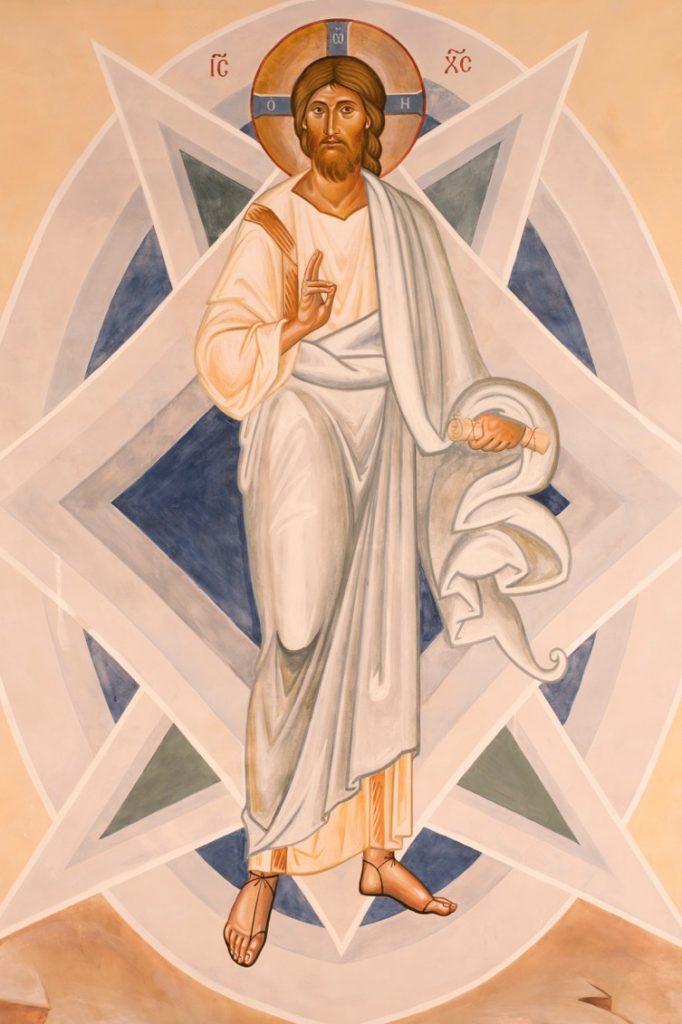 Christ transfigured