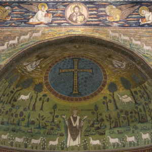 The Mosaic Apse of Sant'Apollinaire in Classe, Ravenna