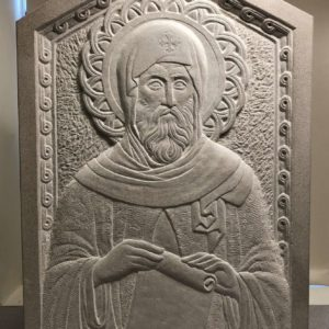 The Byzantine Sculpture of Michael Lucas